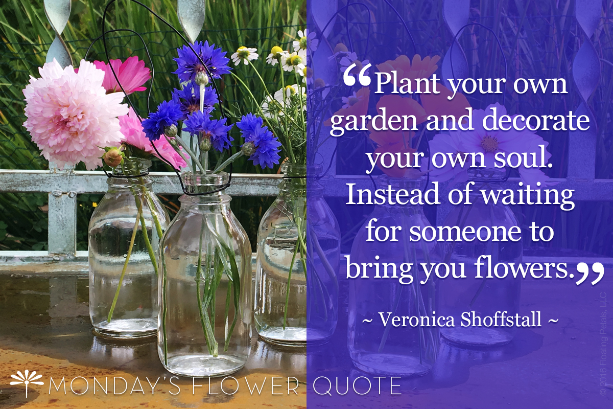 Monday's Flower Quote