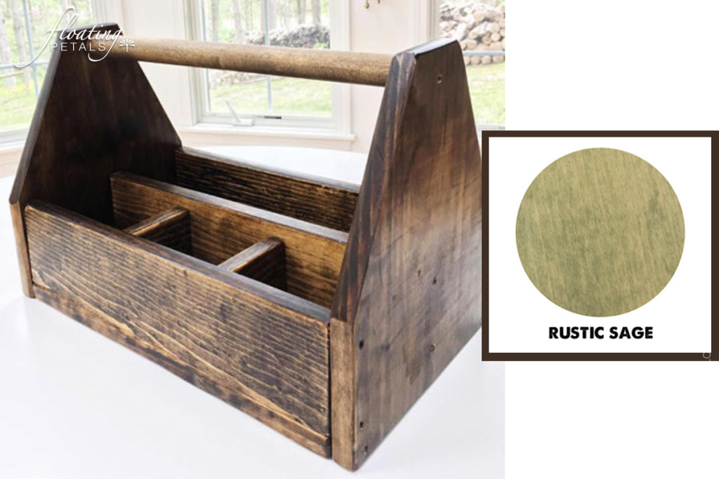 Herbs & a Rustic Tool Box