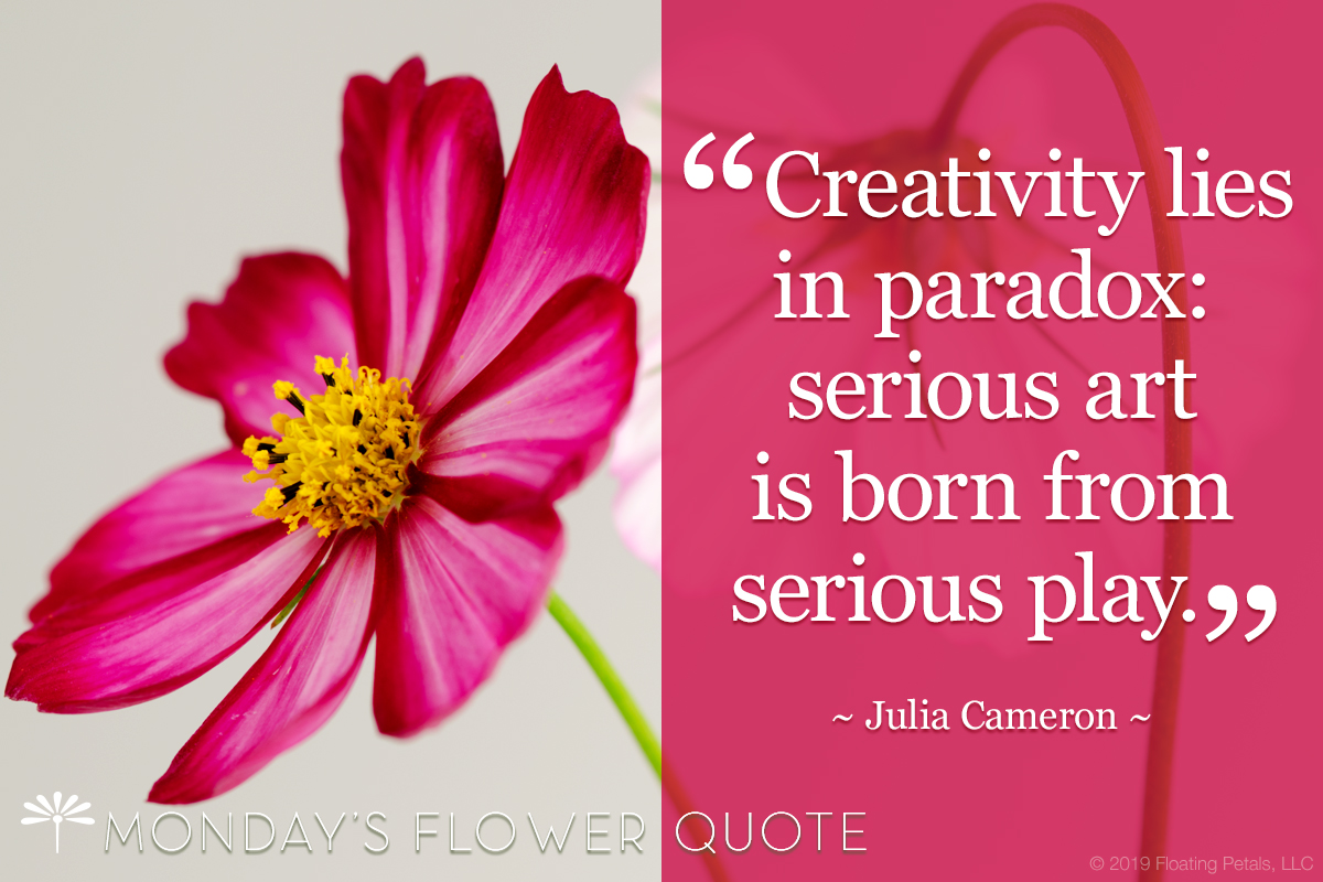 Creativity lies in paradox